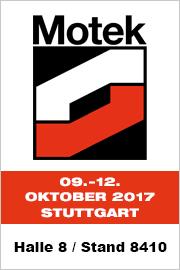 BIBUS GmbH auf der Motek 2017 - Halle 8 - Stand 841