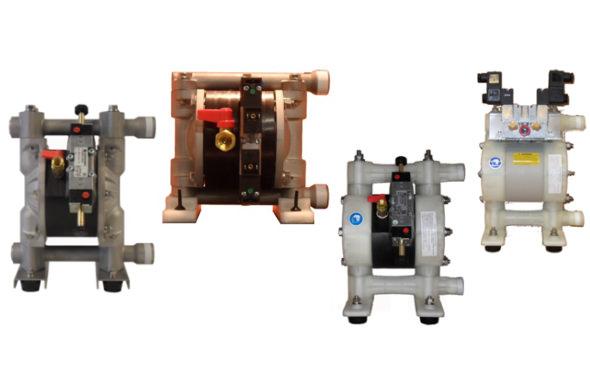 YAMADA Magnetgesteuerte Doppelmembranpumpe DMB(X)-Serie
